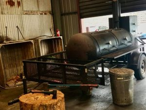 red gum bbq smoker