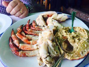 La Rampa crab