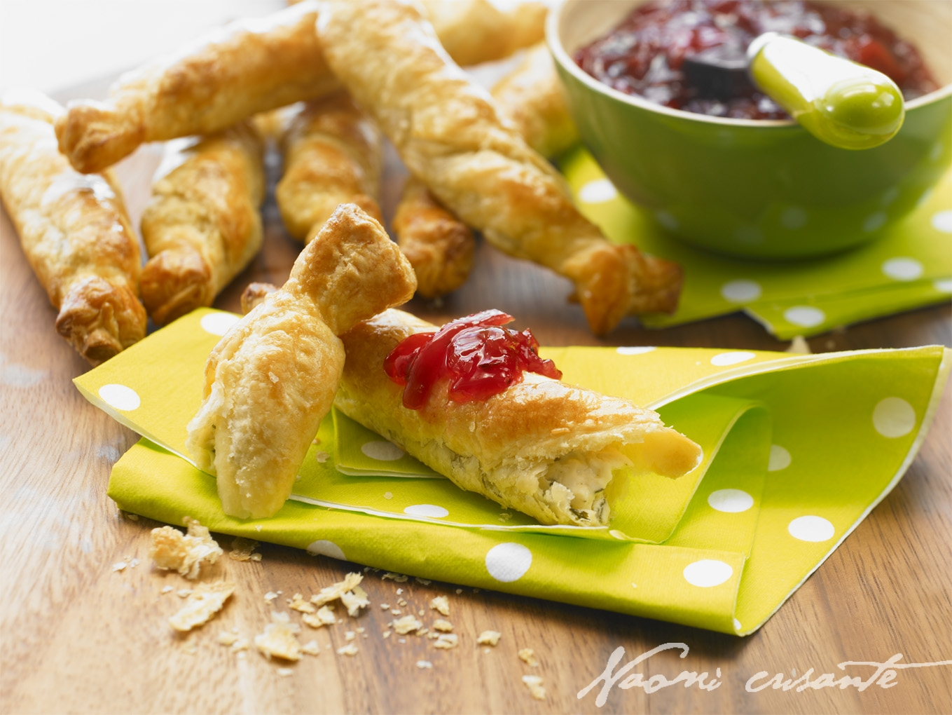 Herb 'n' Garlic Twists