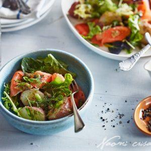 Smoked Salmon Dill Potato Salad
