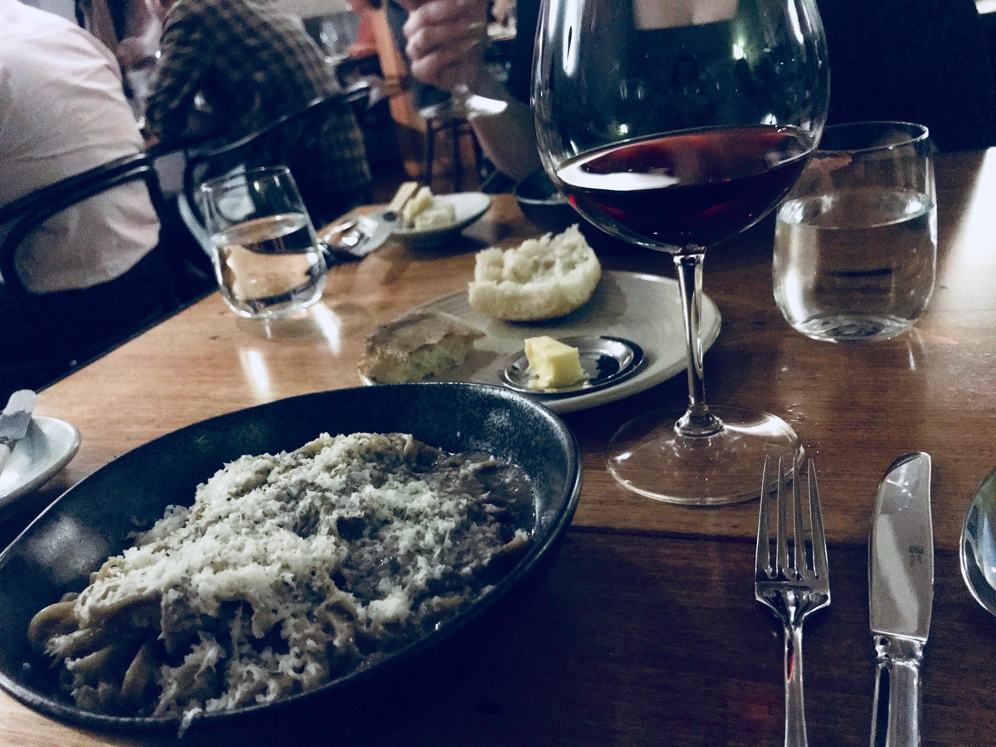 Carlton Wine Room - Mushroom Linguine
