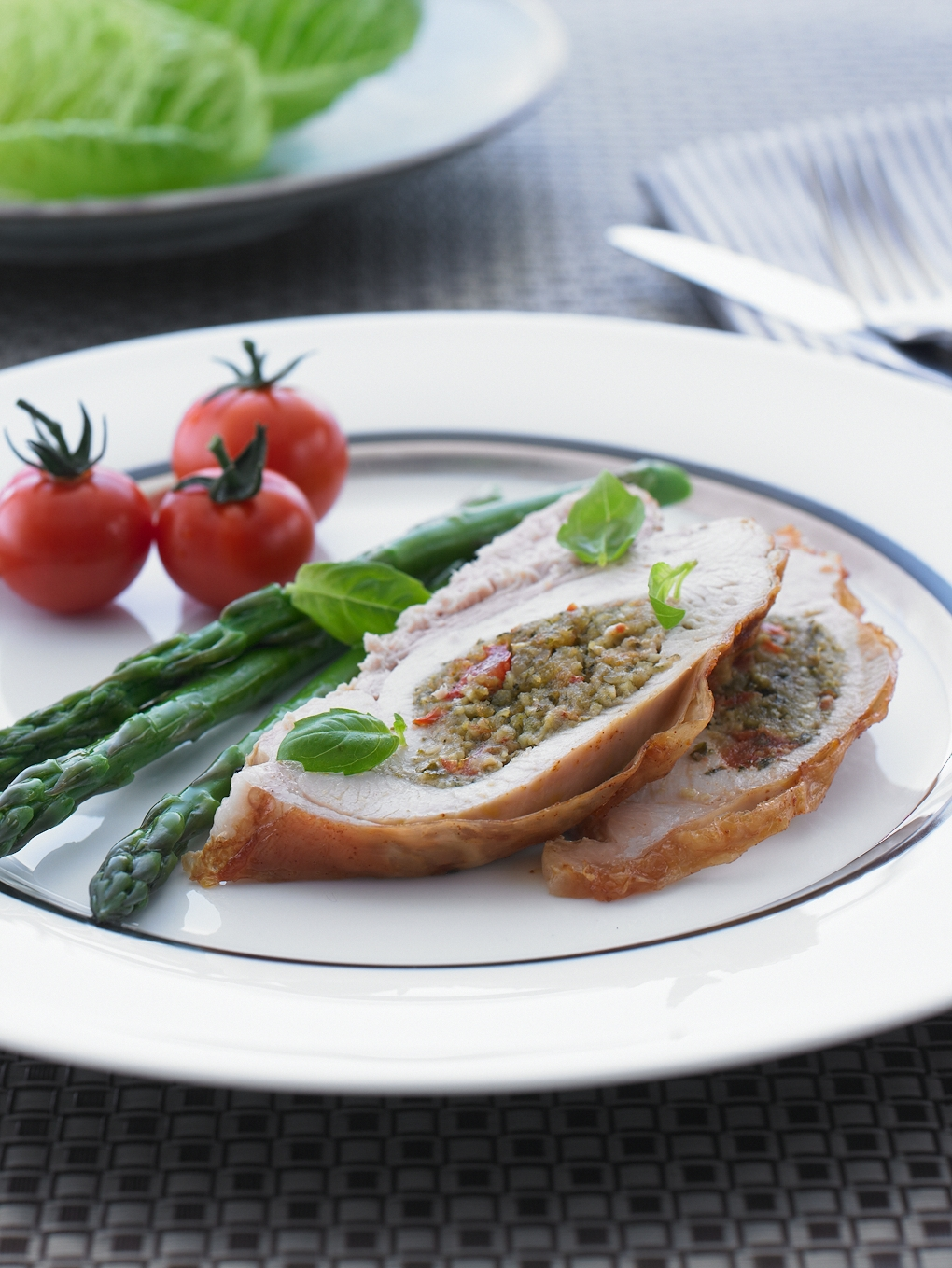 Roasted Pesto Turkey Fillet