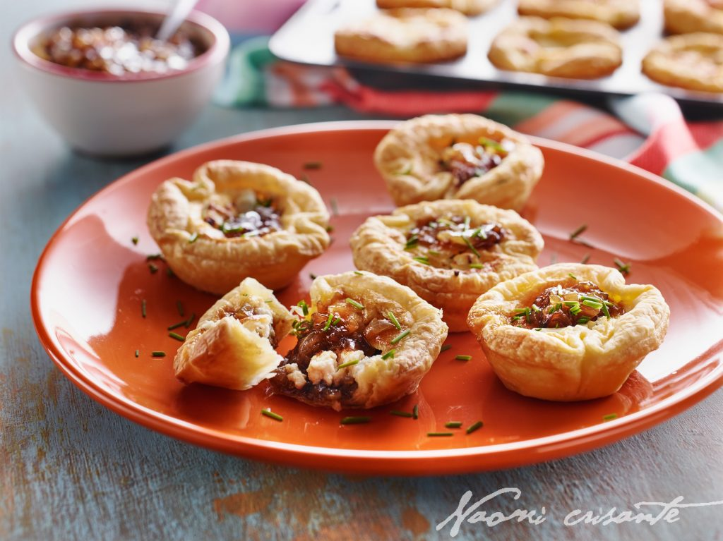 Goat's Cheese and Quince Tartlets