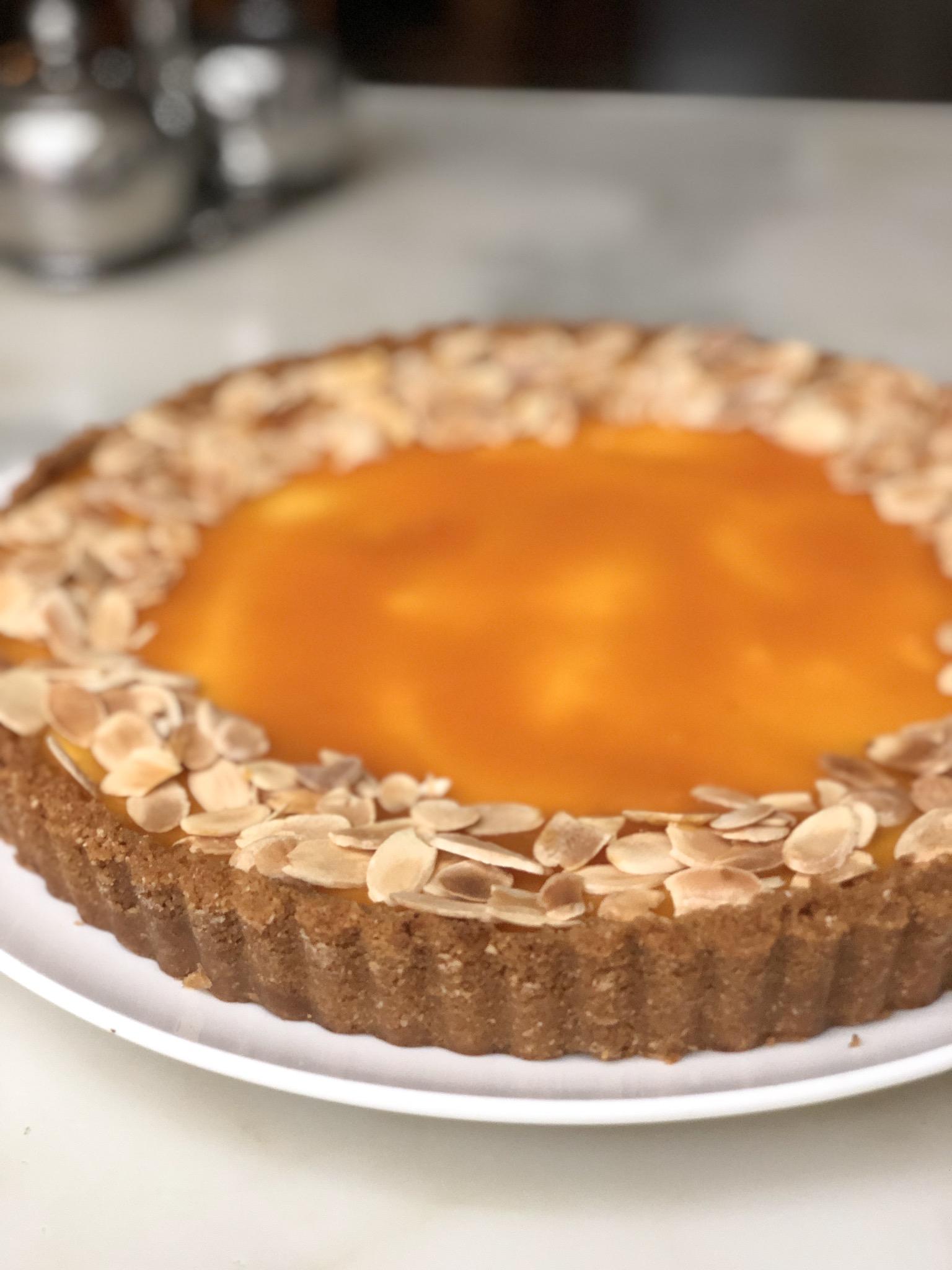 Anzac Apricot Nectar Cheesecake