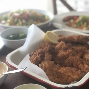 Southern Fried Chicken with Caper Mayonnaise
