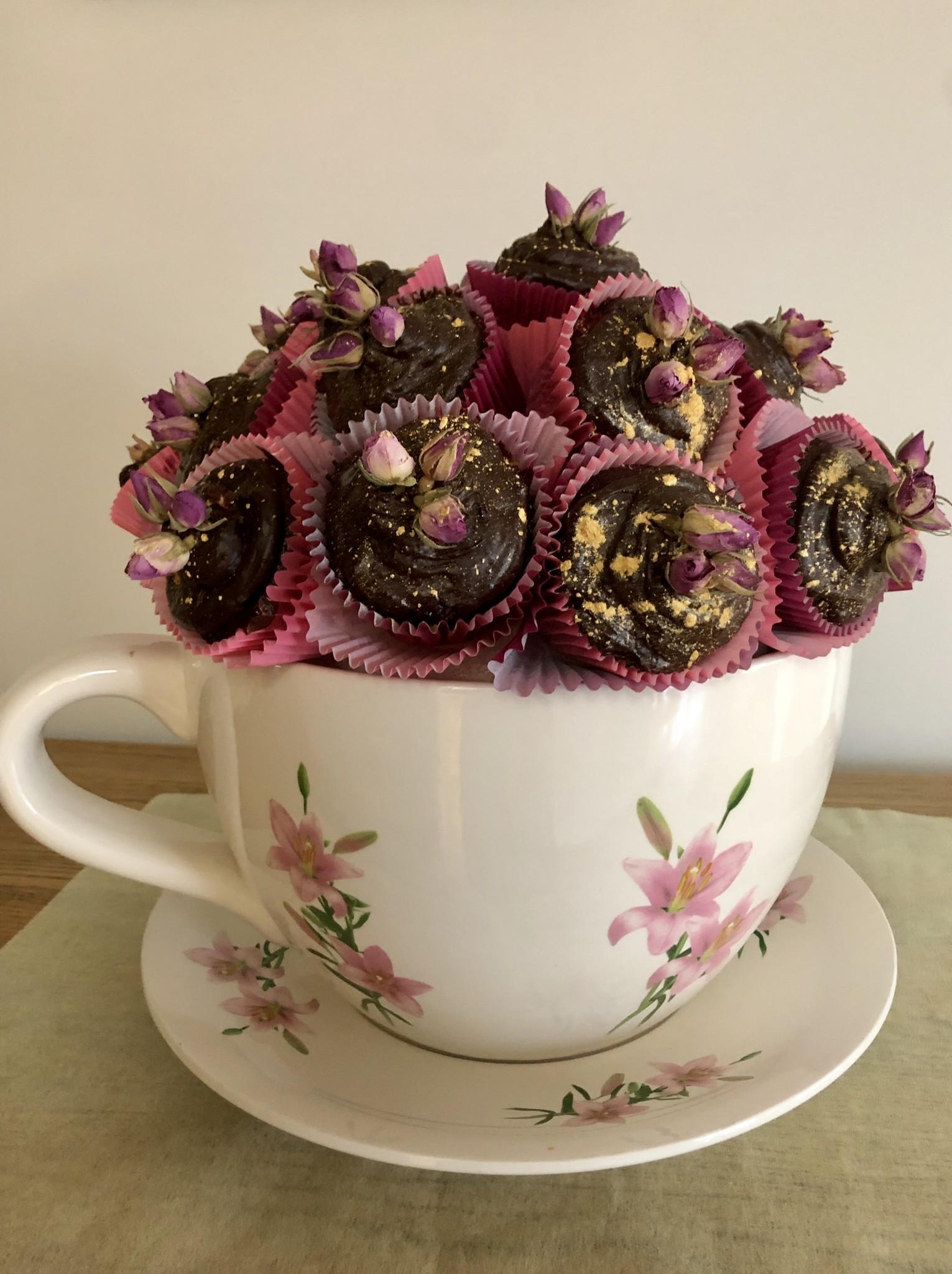 Cupcake Teacup Cake