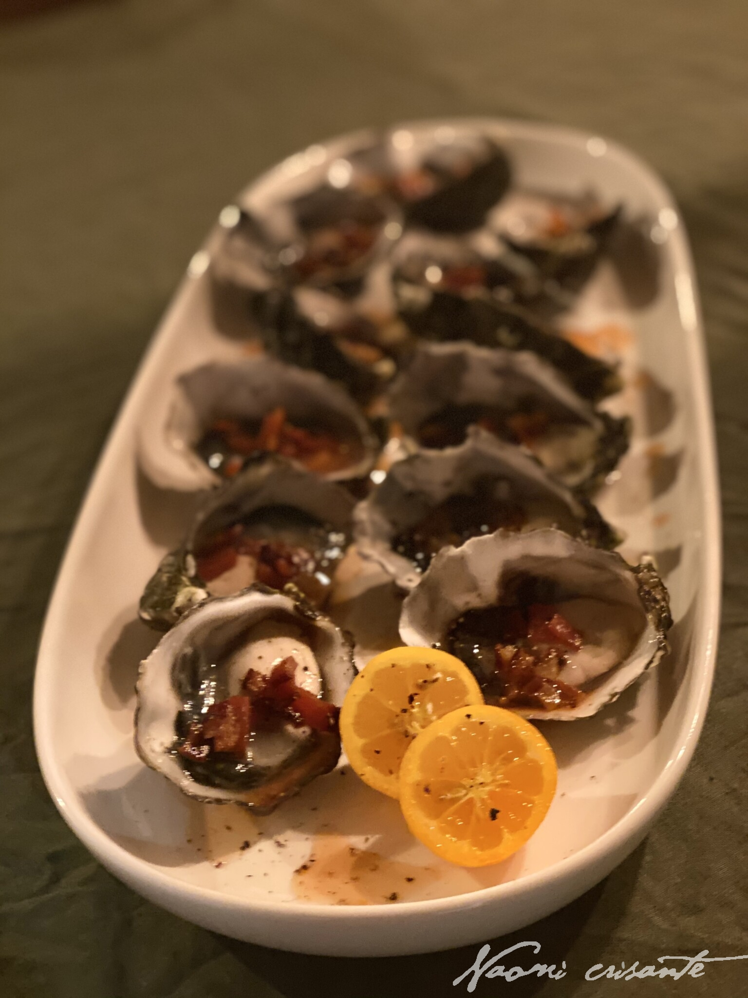 Oysters Americano