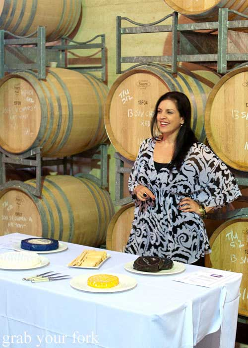 Naomi Crisante - Cheese Launch - Margans Wines - Hunter Valley